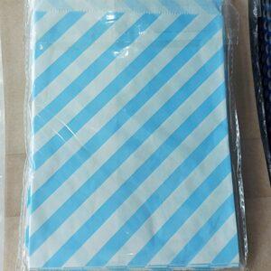 ซองสีฟ้าขาว