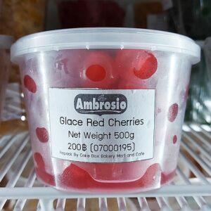 Ambrosio Glace Red Cherries