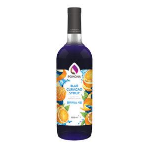 Pomona Blue Curacao Syrup