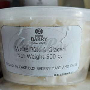 Cacao Barry White Pate a Glacer