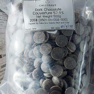 Callebaut Dark Chocolate Couverture 57.9%