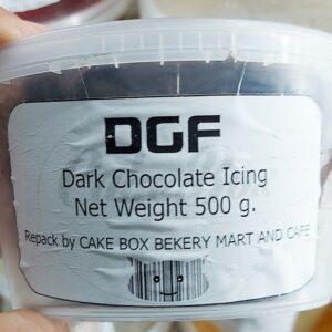 DGF Dark Chocolate Icing