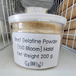 Beef Gelatin Powder (160 Bloom) Halal