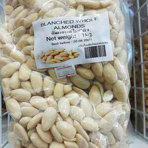 Blanched Whold Almonds