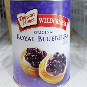 Duncan Hines Wilderness Royal Blueberry Pie Filling & Topping
