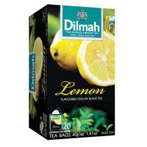 Dilmah Lemon Flavoured Ceylon Black Tea