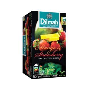 Dilmah Mango & Strawberry Flavoured Ceylon Black Tea