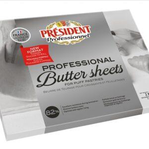 President Butter Sheet