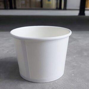 ถ้วยไอศกรีม 520cc สีขาว