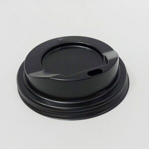 ฝาปิดแก้วกระดาษ DW 8oz สีดำ