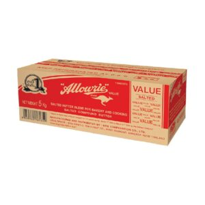 Allowrie Value Salted Butter 5 Kg.
