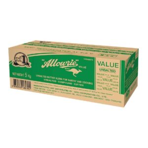 Allowrie Value Unsalted Butter 5 Kg.