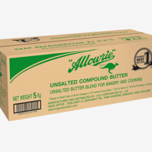 Allowrie Compound Unsalted Butter 5 Kg